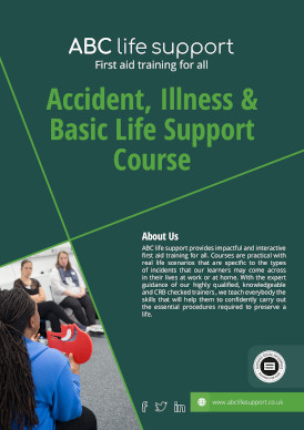 Accident, Illness & Basic Life Support Course Brochure