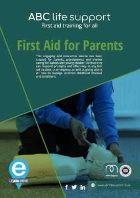 First Aid for Parents e-course brochure