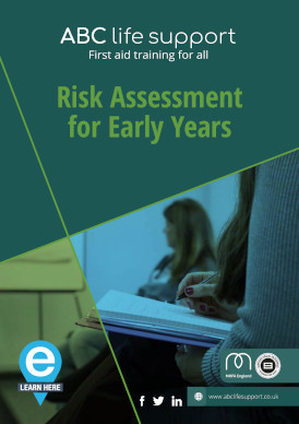 Risk Assessment for Early Years e-course brochure