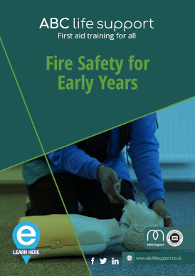 Fire Safety for Early Years e-course brochure