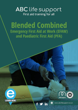 Blended Combine EFAW & PFA e-course brochure